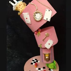 Atelier Alice Gravity cake by Bouchra