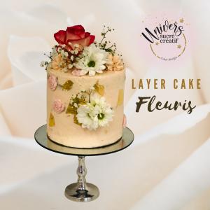 layer cake fleuris