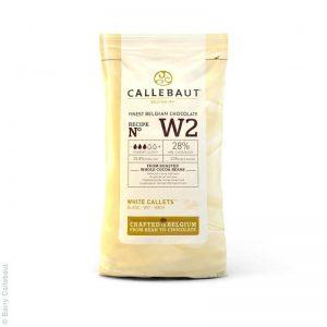 chocolat couverture blanc Callebaut