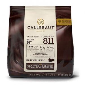 Chocolat Callebaut noir 400g recouvrement